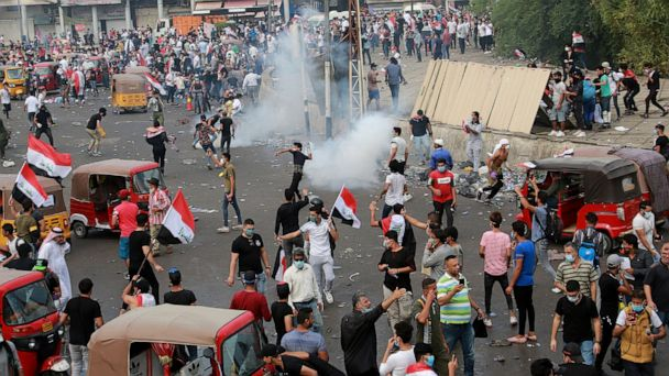 Students join Iraq protests as clashes kill 3 demonstrators