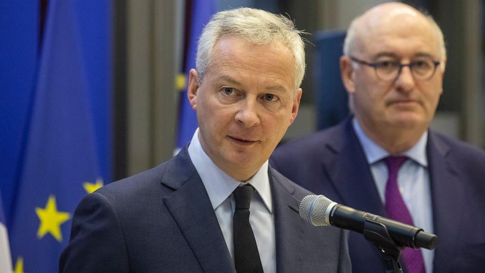 Η γαλλία και η ΕΕ έτοιμη να ανταποκριθεί στην απειλή των νέων τιμολογίων