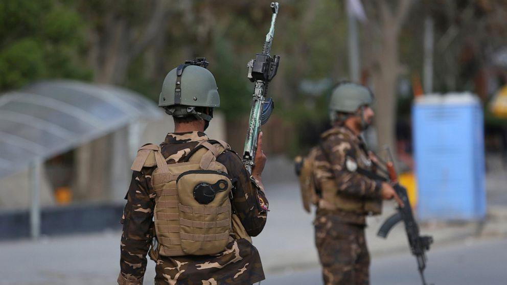 Afghan official says Taliban ambush police convoy, kill 9
