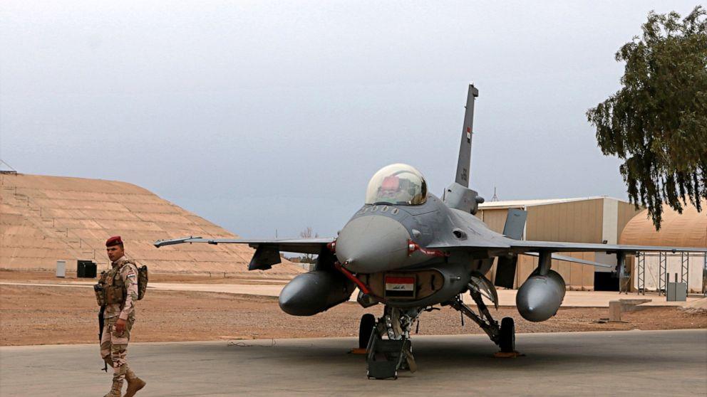 4イラク軍の負傷によるロケット攻撃航空基地