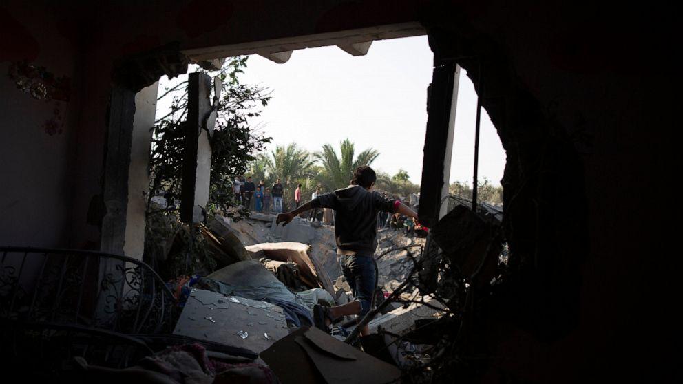 Το ισραήλ λέει ότι έχει ολοκληρώσει τη Γάζα απεργίες μετά την εκτόξευση ρουκετών