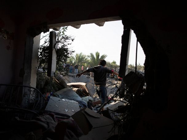Israel says it has completed Gaza strikes after rocket fire