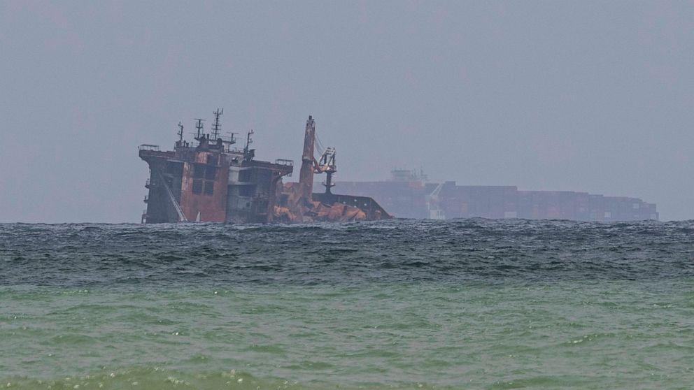 Sri Lanka seeks initial $40M from stricken ship's operator