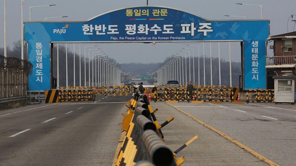 米軍基地blares falseの場合アラームの中でN韓国の懸念