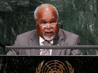 Michael Somare, Papua New Guinea's 1st prime minister, dies
