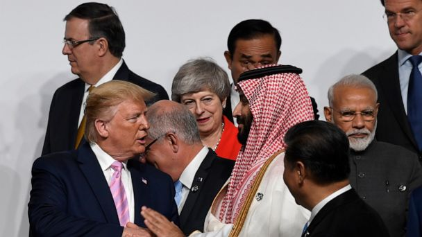Rebuked by many, Saudi crown prince feted at G20 summit