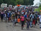 Hundreds of migrants corralled at detention center in Mexico