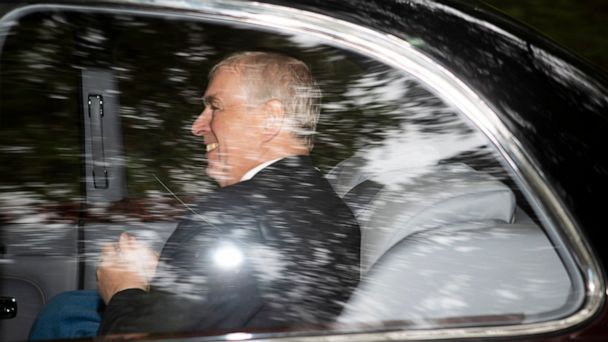 Prince Andrew rejects involvement in Epstein sex scandal