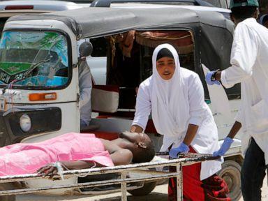 Car bomb blasts Somalias capital near airport 10 killed