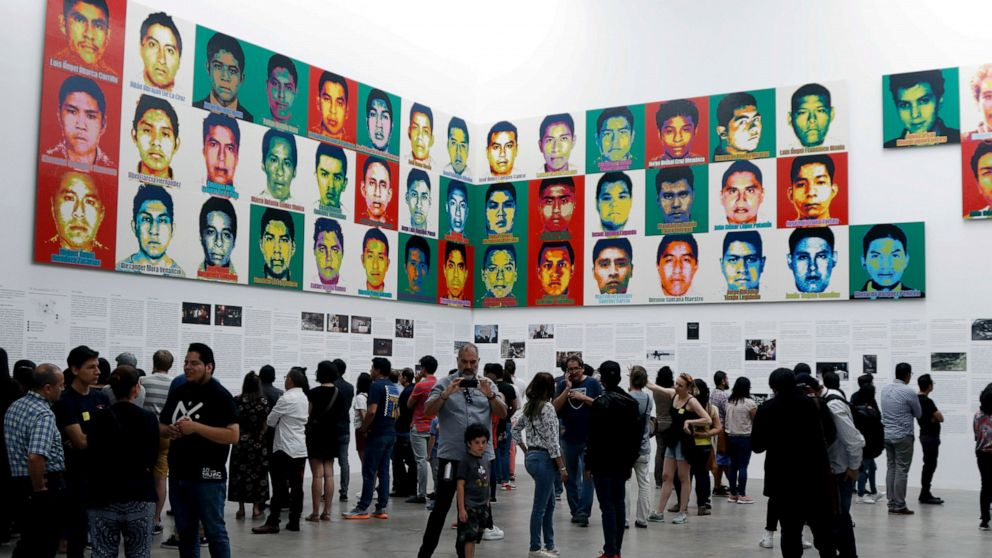 Ai Weiwei remembers disappearance of 43 Mexican students