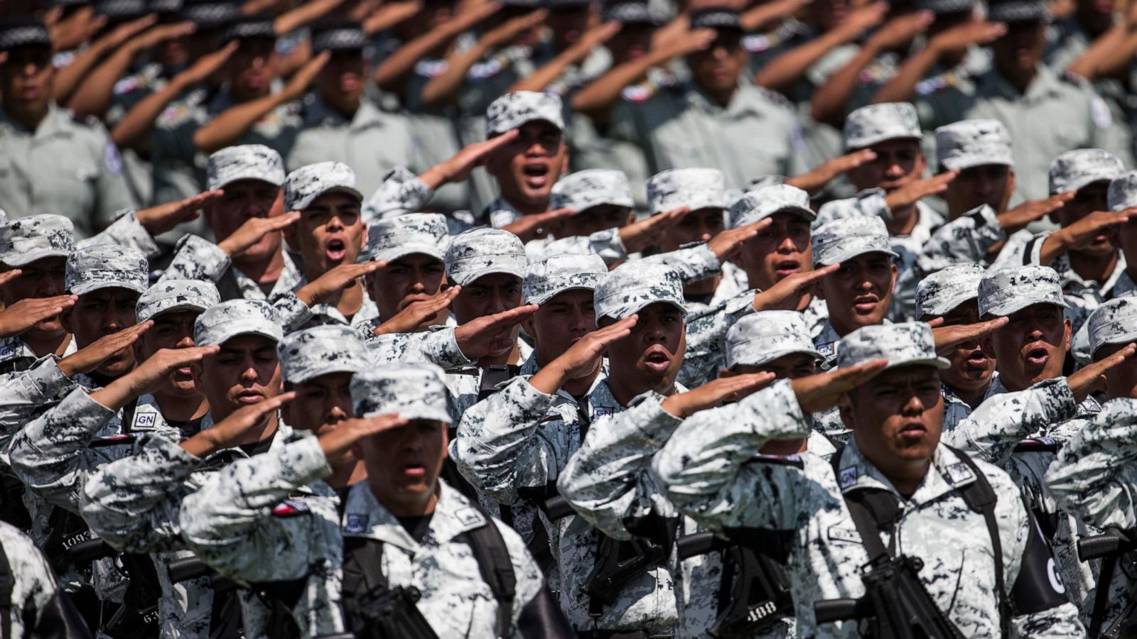 04e95778dc Mexican police revolt against plans to join National Guard - ABC News