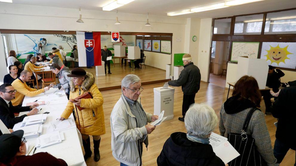 Opposition challenges leftist ruling party in Slovak vot thumbnail
