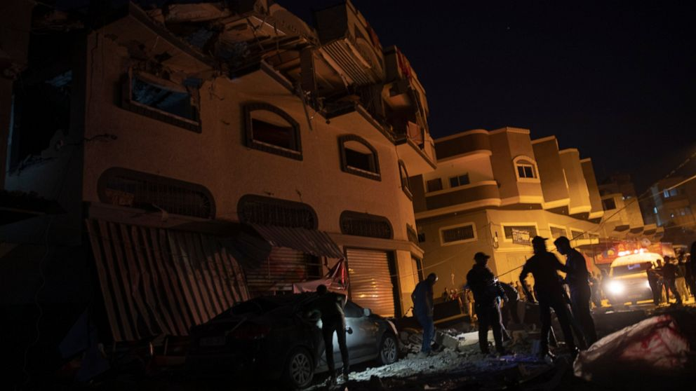 The Latest: Israel bombs Islamic Jihad targets in Gaza