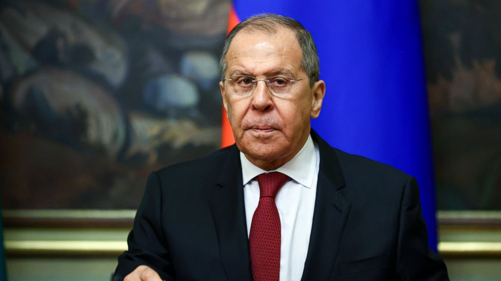 Russian FM Says Connections With West Have'hit On The Bottom'