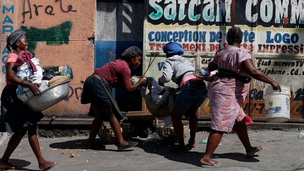 Haiti: Gunshots wound 7 men setting up protest roadblock thumbnail