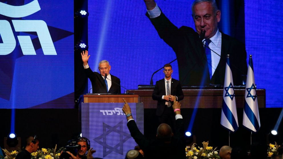 Israel's 2 main political parties deadlocked after election thumbnail