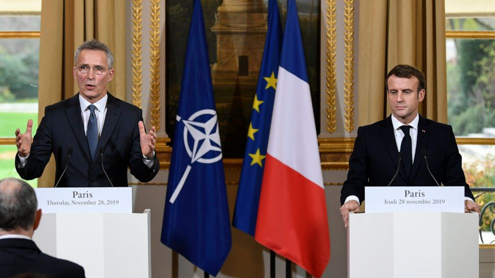 The Latest: US to pay less of NATO's in-house budget thumbnail