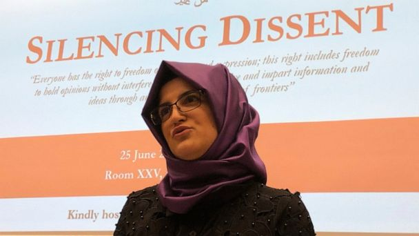 Slain journalist's fiancee wants Saudis pressured at G-20