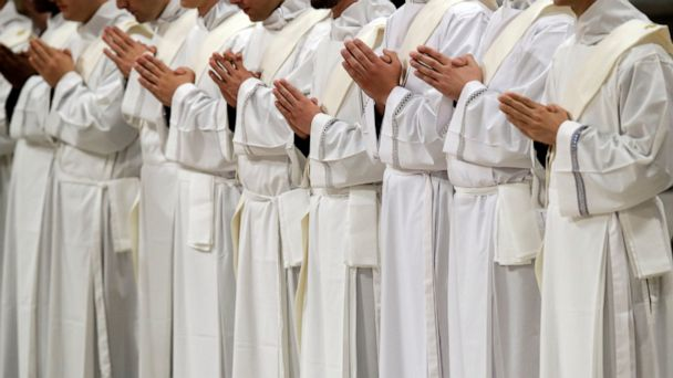 Pope gives church 19 new priests in Vatican ceremony