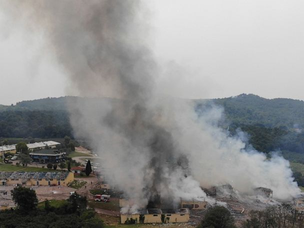Death toll rises to 6 in Turkey fireworks factory explosion