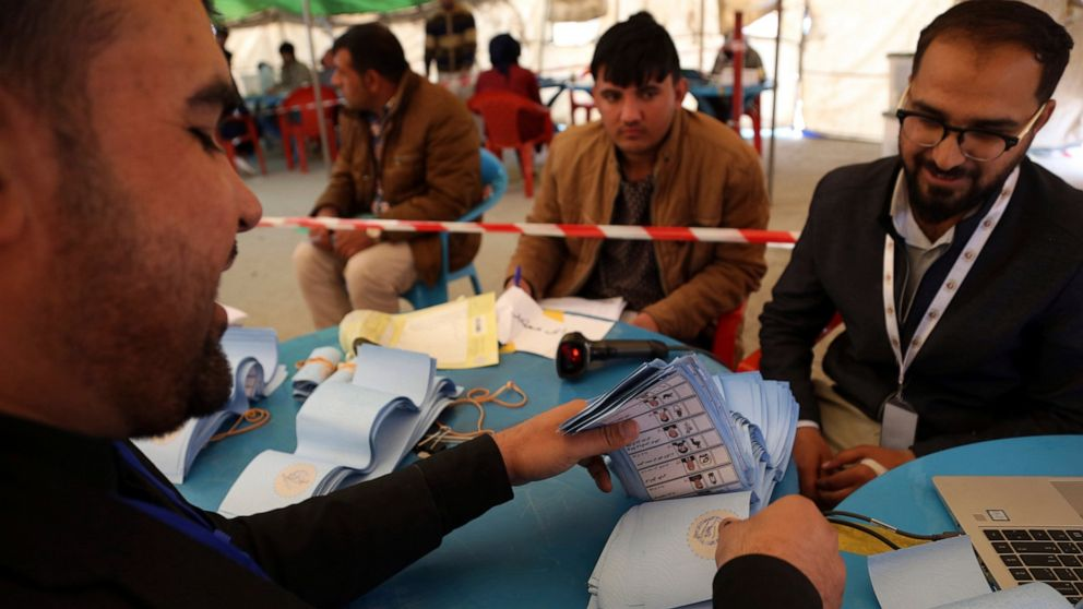 Afghan official says presidential poll results delayed again thumbnail