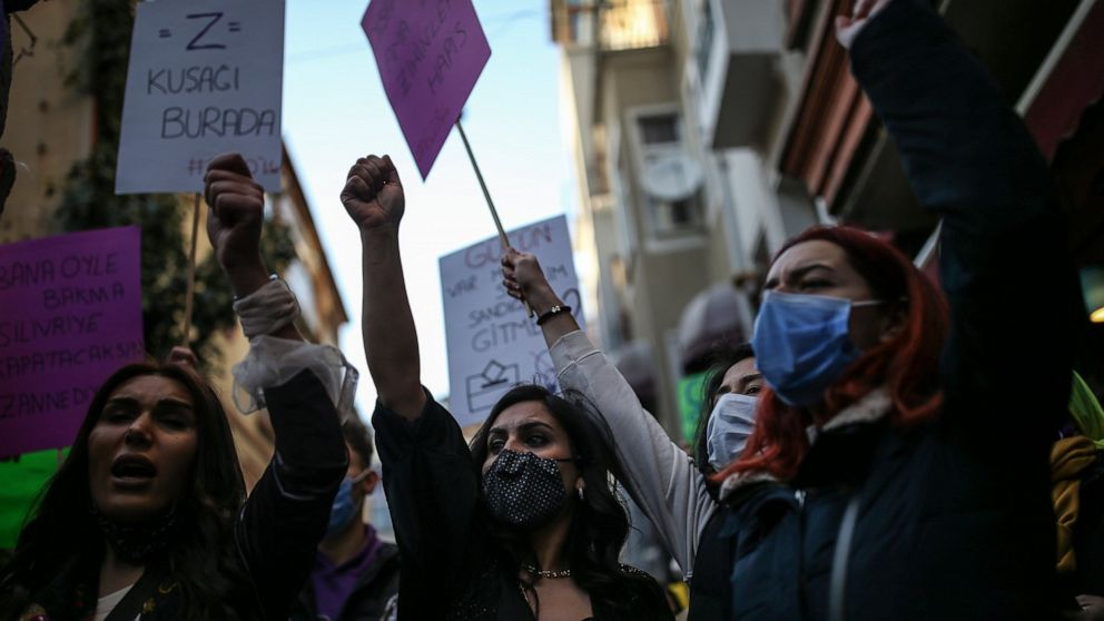 Turkey Withdraws from European Treaty Protecting Women from Violence