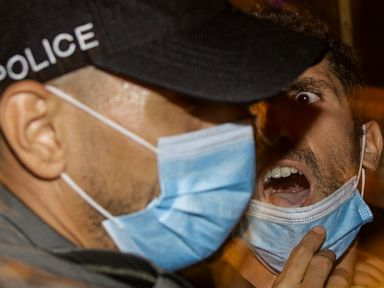 Israelis protest against PM as coronavirus infections spike