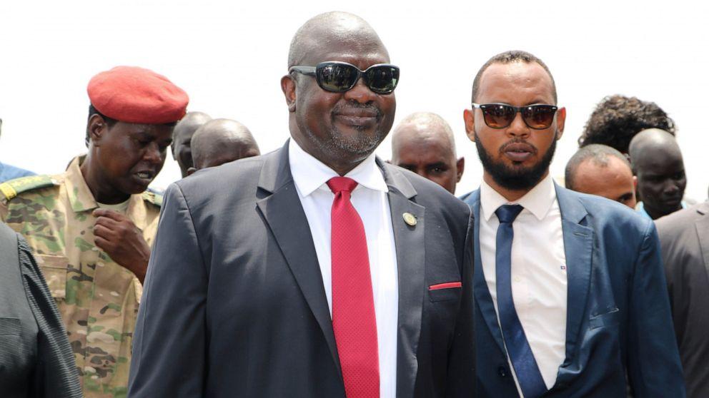 Süd-Sudan der Oppositionsführer warnt vor Rückkehr zum Bürgerkrieg