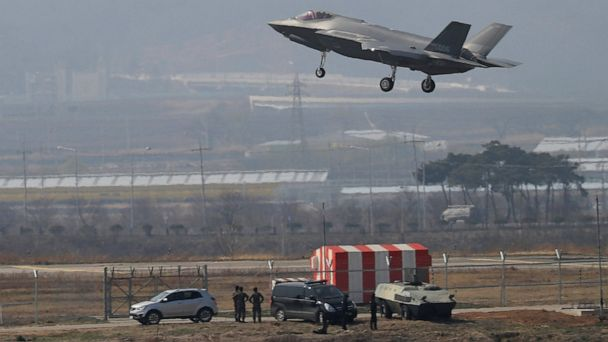 N. Korea vows to respond to South's deployment of F-35 jets