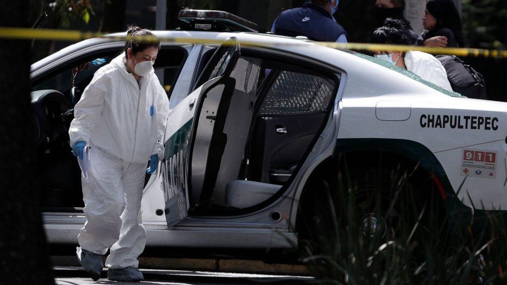 Brazen ambush of Mexico City chief blamed on Jalisco cartel thumbnail