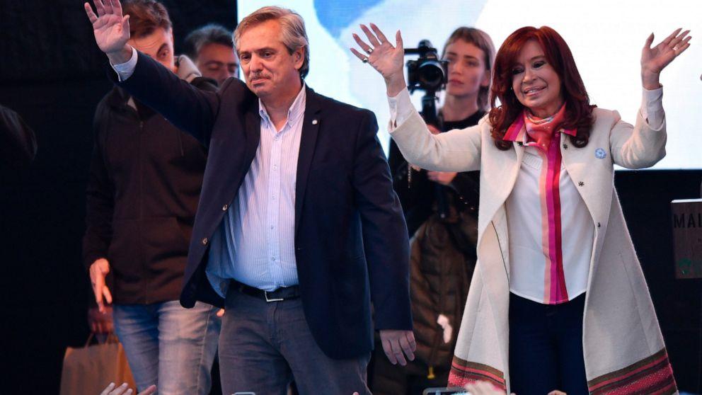 Fernández-Fernández: Argentine pair launch presidential bid thumbnail