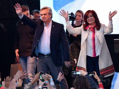 Fernández-Fernández Argentine pair launch presidential bid