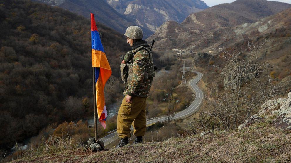 Clashes on Armenia-Azerbaijan border leave 3 dead, 4 wounded