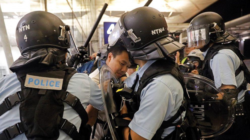 Flights resuming at Hong Kong airport after protest chaos thumbnail