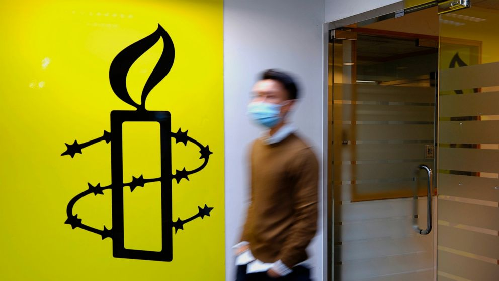Amnesty International to close Hong Kong offices this year