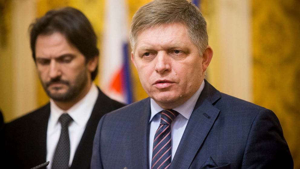 Ex-Slovak prime minister Robert Fico charged with racism thumbnail