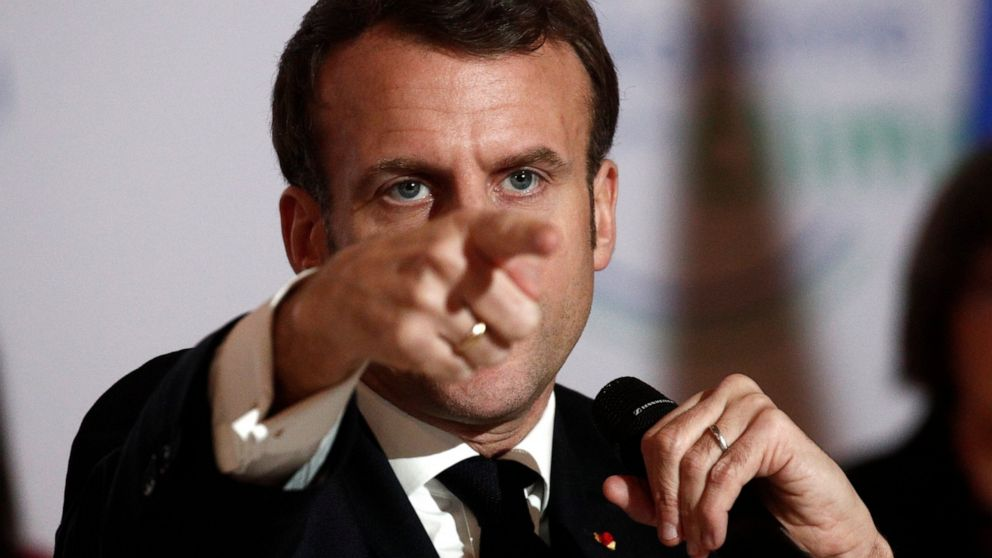 France's Macron makes big push for more foreign investment