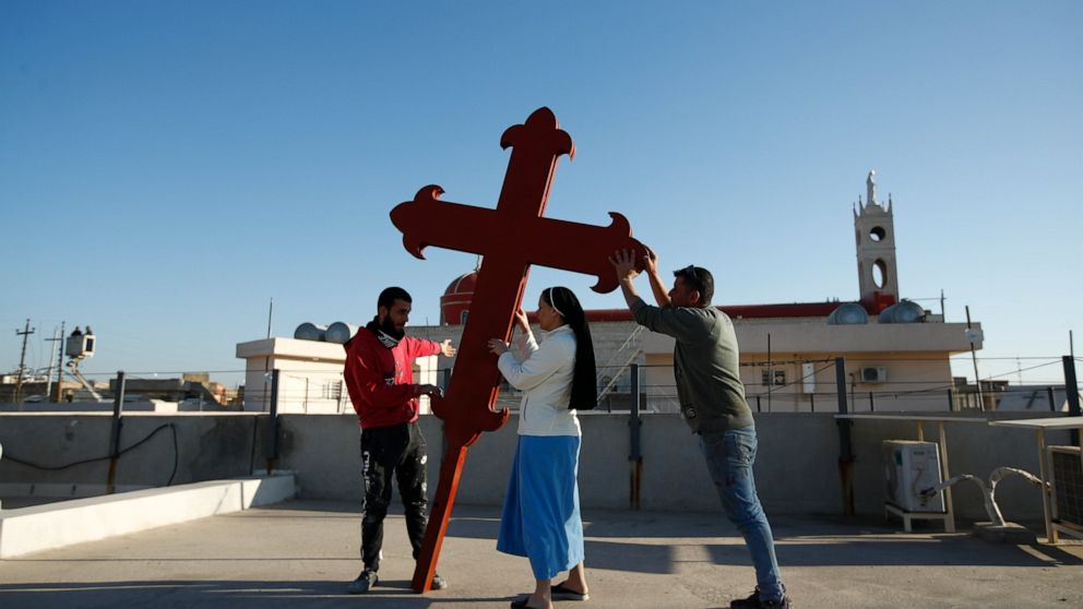 A timeline of disaster and displacement for Iraqi Christians