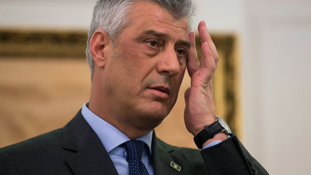 Kosovo president, indicted for war crimes, heads back home thumbnail