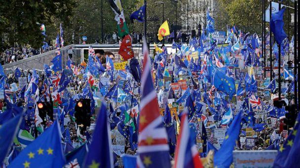 UK's Johnson asks for Brexit delay, but argues against it