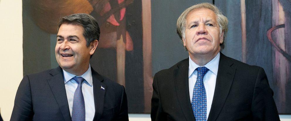 Juan Orlando Hernandez, Luis Almagro