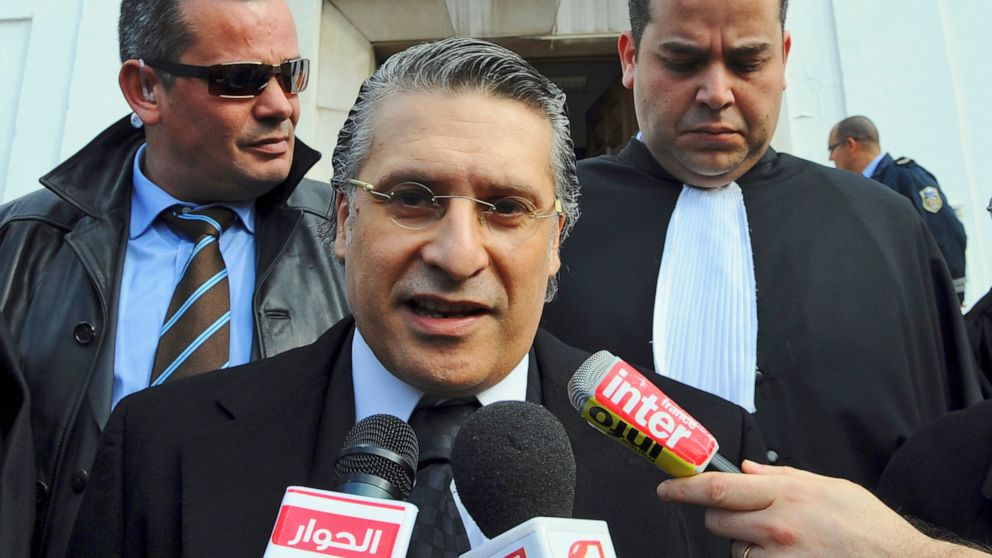 Leading presidential contender arrested in Tunisia