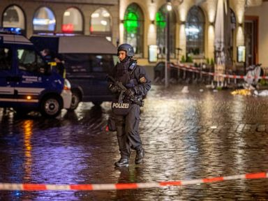 German man who drove into crowd, killing 5, talks to police