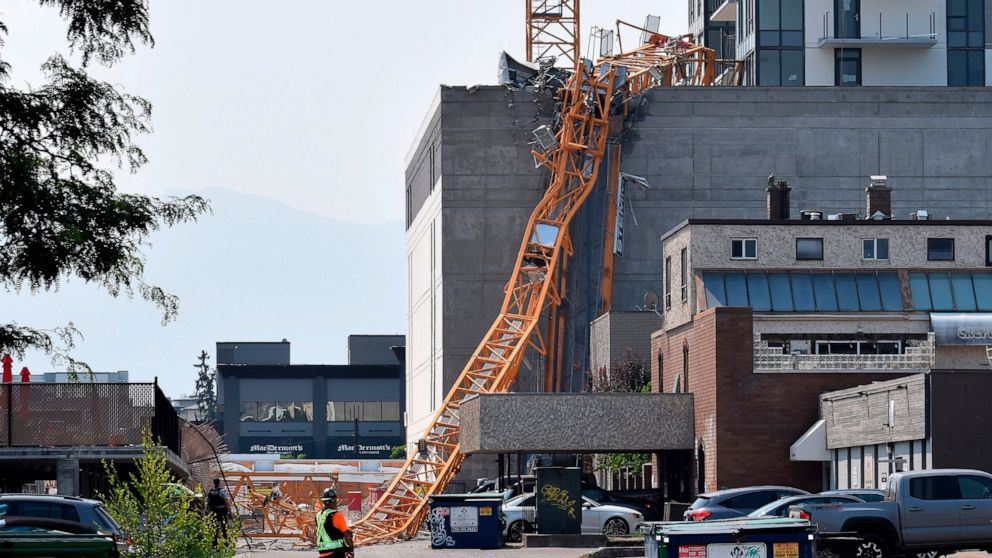 Five People Killed After Crane Collapses at Residential Tower in Canada