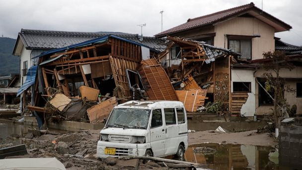 Flooded bullet trains show Japan's risks from disasters