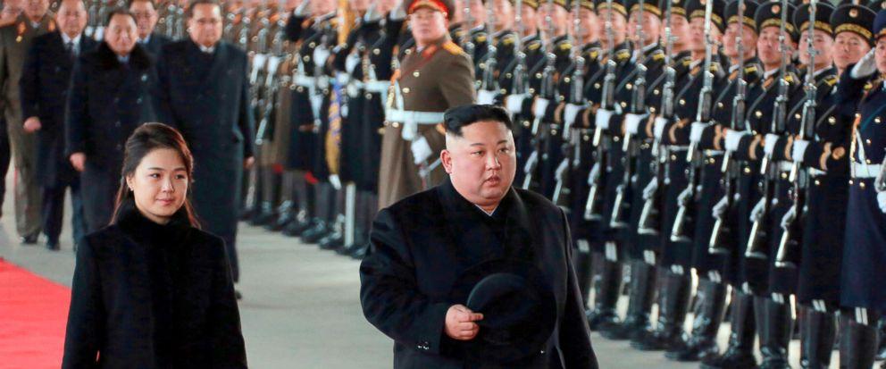 Kim Jong Un, Ri Sol Ju