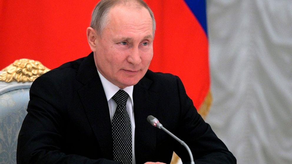 Putin S New Amendments Revere God Ban Same Sex Marriages Abc News