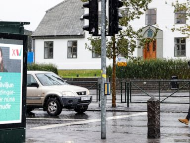 Icelanders vote with climate change on everyone's mind