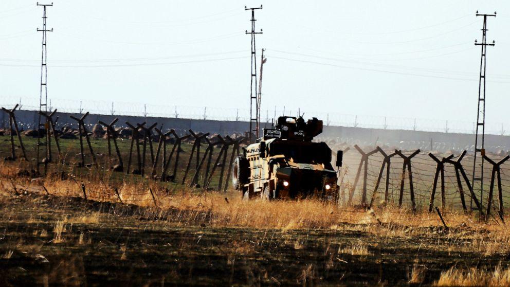 報告書との間で激しい戦闘シリアトルコ軍