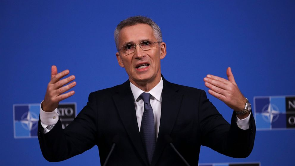 NATO chief to meet French leader as tensions mount thumbnail
